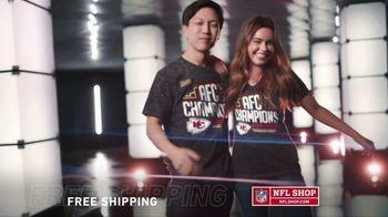 NFL Shop TV Spot, 'AFC Champs: Chiefs'
