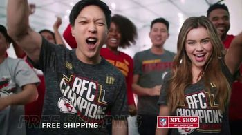 NFL Shop TV Spot, 'AFC Champs: Chiefs' - Thumbnail 3