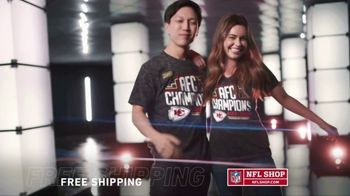 NFL Shop TV Spot, 'AFC Champs: Chiefs'