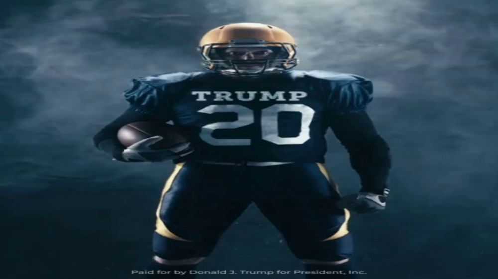 Donald J. Trump for President Super Bowl 2020 Teaser, 'Text First'