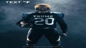 Donald J. Trump for President Super Bowl 2020 Teaser TV Spot, 'Text First'