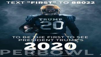 Donald J. Trump for President Super Bowl 2020 Teaser, 'Text First' - Thumbnail 3