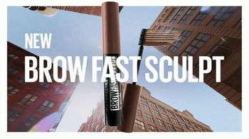 Maybelline New York Brow Fast Sculpt TV Spot, 'One Step' Featuring Gigi Hadid - Thumbnail 1
