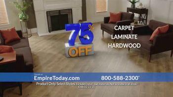 Empire Today 75 Percent Off Sale TV Spot, 'Beautiful New Floors: February' - Thumbnail 4