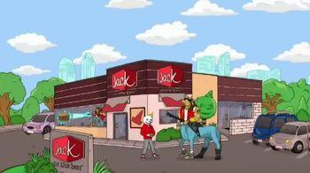 Jack in the Box Triple Bonus Jack Combo TV Spot, 'Catch a Ride With the 'Taur' - Thumbnail 1