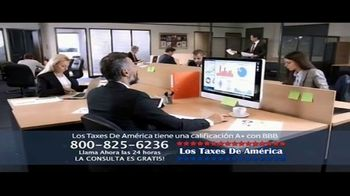 Los Taxes de América TV Spot, 'Jorge y Miriam debían más $200 mil dólares al IRS' - Thumbnail 7