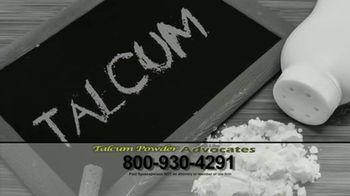 Talcum Powder Advocates TV Spot, 'Ovarian Cancer: Baby Powder'