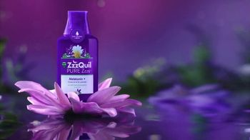 Vicks ZzzQuil Pure Zzzs Liquid Melatonin Sleep-Aid TV Spot, 'Unique Botanical Blend' - Thumbnail 4