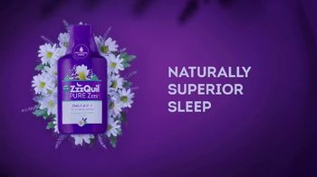 Vicks ZzzQuil Pure Zzzs Liquid Melatonin Sleep-Aid TV Spot, 'Unique Botanical Blend' - Thumbnail 7