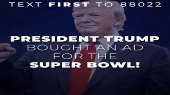 Donald J. Trump for President Super Bowl 2020 Teaser, 'Loyal Supporters'