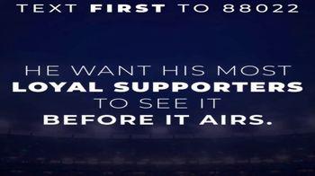 Donald J. Trump for President Super Bowl 2020 Teaser, 'Loyal Supporters' - Thumbnail 3