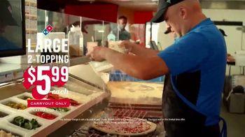 Domino's $5.99 Large 2-Topping TV Spot, 'The Big Guns: Pepperoni Guy' - Thumbnail 10