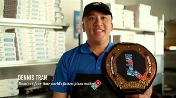 Domino's $5.99 Large 2-Topping TV Spot, 'The Big Guns: Pepperoni Guy'