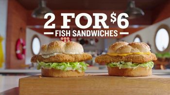 Arby's 2 for $6 Crispy Fish Sandwiches TV Spot, 'Differences' Song by YOGI - Thumbnail 5