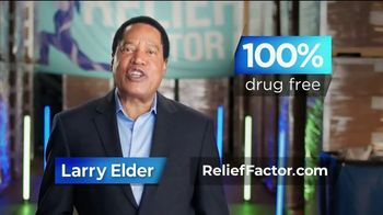 Relief Factor Quickstart TV Spot, 'Reasons Like This: Julie' Featuring Larry Elder - 126 commercial airings