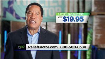 Relief Factor Quickstart TV Spot, 'Reasons Like This: Julie' Featuring Larry Elder - Thumbnail 8