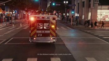 Verizon 5G Ultra Wideband TV Spot, '5G Built Right: Vital Signs' - Thumbnail 2