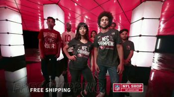 NFL Shop TV Spot, 'NFC Champs: 49ers' - Thumbnail 4