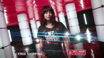 NFL Shop TV Spot, 'NFC Champs: 49ers' - Thumbnail 6