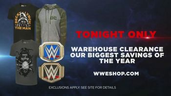 WWE Shop TV Spot, 'Join the Universe: Warehouse Clearance Savings' Song by Song by Krissie Karlsson - Thumbnail 10