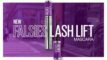 Maybelline New York Falsies Lash Lift Mascara TV Spot, 'Long, Lifted Volume' Featuring Gigi Hadid - Thumbnail 9