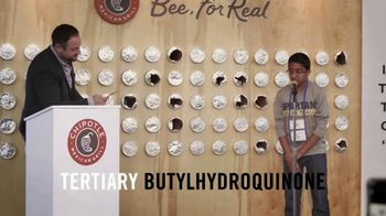 Chipotle Mexican Grill TV Spot, 'Bee for Real' - Thumbnail 3