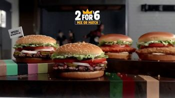 Burger King 2 for $6 Mix or Match TV Spot, 'Impossible Whopper and Spicy Chicken' - Thumbnail 4