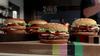 Burger King 2 for $6 Mix or Match TV Spot, 'Impossible Whopper and Spicy Chicken' - Thumbnail 9