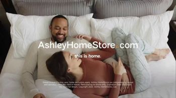 Ashley HomeStore Big Sleep Sale TV Spot, 'King for the Price of a Twin' Song by Midnight Riot - Thumbnail 9