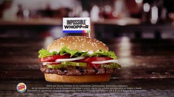 Burger King 2 for $6 Mix or Match TV Spot, 'Ahora con el Impossible Whopper' [Spanish] - Thumbnail 3