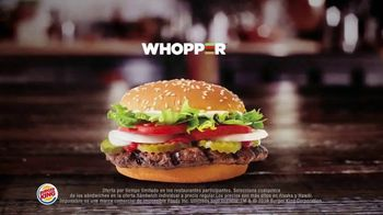Burger King 2 for $6 Mix or Match TV Spot, 'Ahora con el Impossible Whopper' [Spanish] - Thumbnail 4