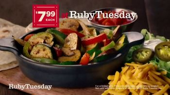 Ruby Tuesday Fajitas Fiesta TV Spot, 'Back: Delivery'