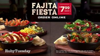 Ruby Tuesday Fajitas Fiesta TV Spot, 'Back: Delivery' - Thumbnail 6