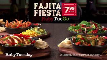 Ruby Tuesday Fajitas Fiesta TV Spot, 'Back: Delivery' - Thumbnail 7