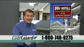 LeafGuard 99 Cent Install Sale TV Spot, 'Million Satisfied Customers' - Thumbnail 5