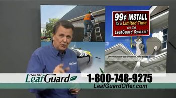 LeafGuard 99 Cent Install Sale TV Spot, 'Million Satisfied Customers' - Thumbnail 6
