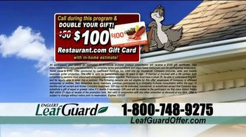 LeafGuard 99 Cent Install Sale TV Spot, 'Million Satisfied Customers' - Thumbnail 8