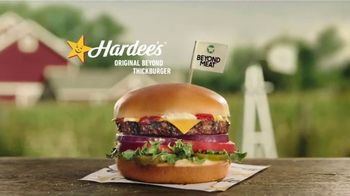 Hardee's Original Beyond Thickburger TV Spot, 'Makes My Head Hurt'