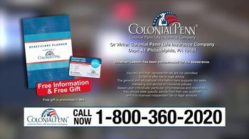 Colonial Penn TV Spot, 'Social Security Death Benefit' - Thumbnail 9