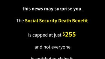 Colonial Penn TV Spot, 'Social Security Death Benefit' - Thumbnail 1