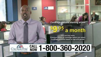 Colonial Penn TV Spot, 'Social Security Death Benefit'
