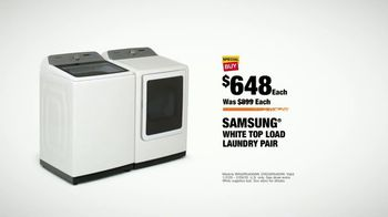 The Home Depot TV Spot, 'Upgrade Your Appliances: Samsung Laundry Pair' - Thumbnail 9