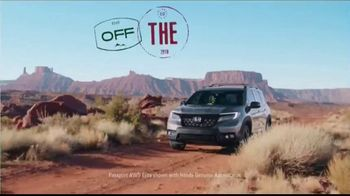 2019 Honda Passport TV Spot, 'Your Passport to Adventure' Song by Wolfmother [T1] - 4431 commercial airings