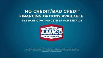 AAMCO Transmissions TV Spot, 'Sounds Like: No Credit/Bad Credit' - Thumbnail 8