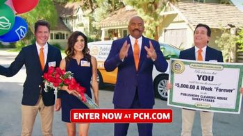 Publishers Clearing House TV Spot, '$5,000 a Week: Last Chance' Featuring Steve Harvey - 1381 commercial airings