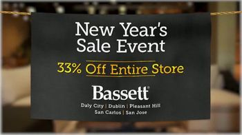 Bassett New Year's Sales Event TV Spot, '33% Off Entire Store' - Thumbnail 9