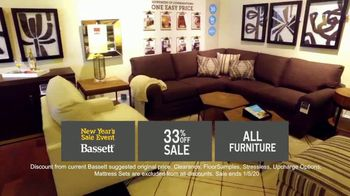 Bassett New Year's Sales Event TV Spot, '33% Off Entire Store' - Thumbnail 5