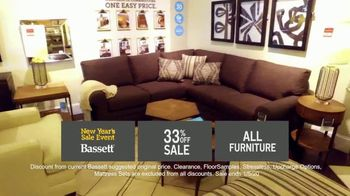 Bassett New Year's Sales Event TV Spot, '33% Off Entire Store' - Thumbnail 6