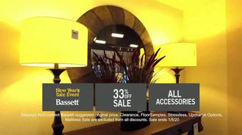 Bassett New Year's Sales Event TV Spot, '33% Off Entire Store' - Thumbnail 8