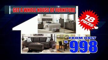 American Freight Warehouse Liquidation TV Spot, 'Bedroom Sets, Mattress Sets and Sofas' - Thumbnail 6